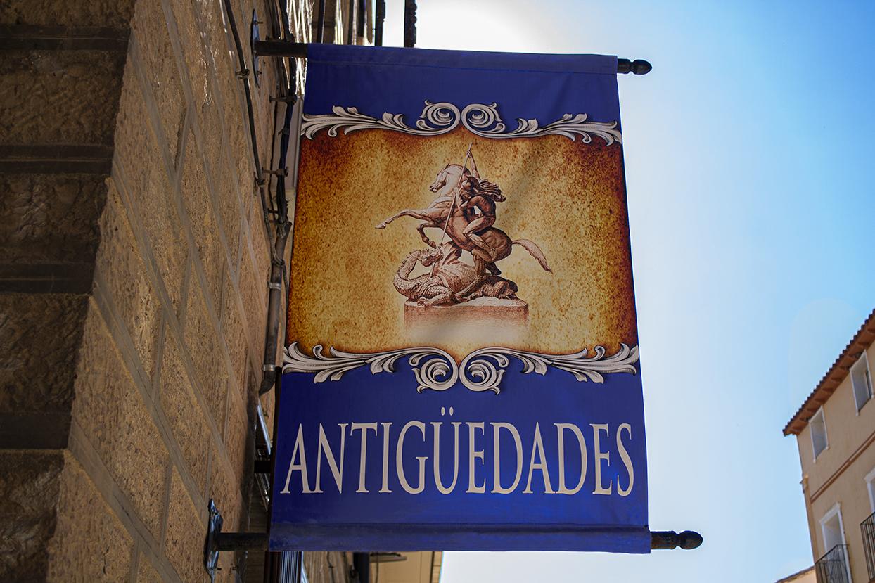 Marsol e Hijos, portada tienda Zaragoza