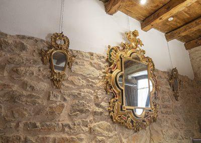 Espejos y cornucopias