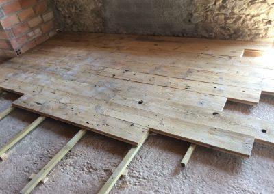 Montaje de suelo