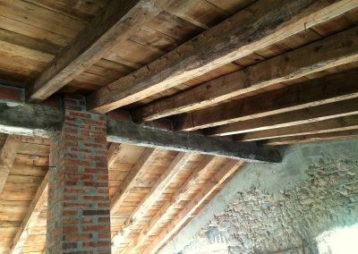 Maderas suelos y techos antiguos