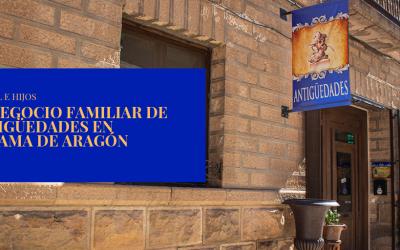 Marsol e Hijos, el negocio familiar de antigüedades en Alhama de Aragón