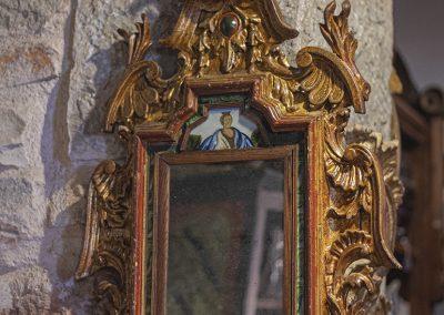 Cornucopias con cristal pintado
