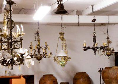 Conjunto de lamparas.