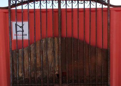 Puerta de hirro