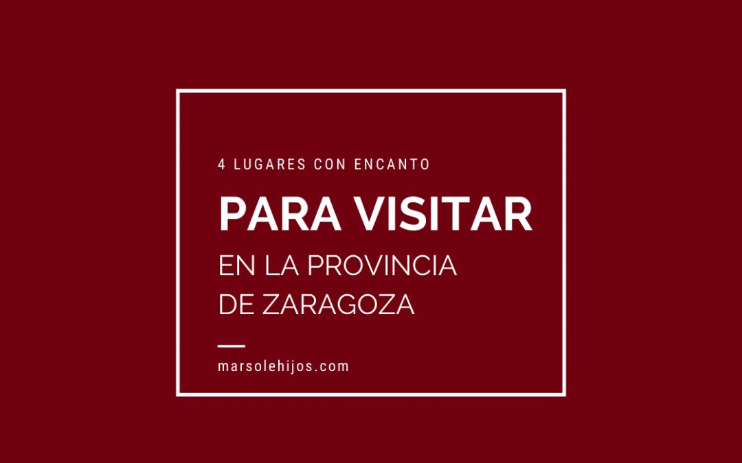 Lugares para visitar en pronvicia de Zaragoza