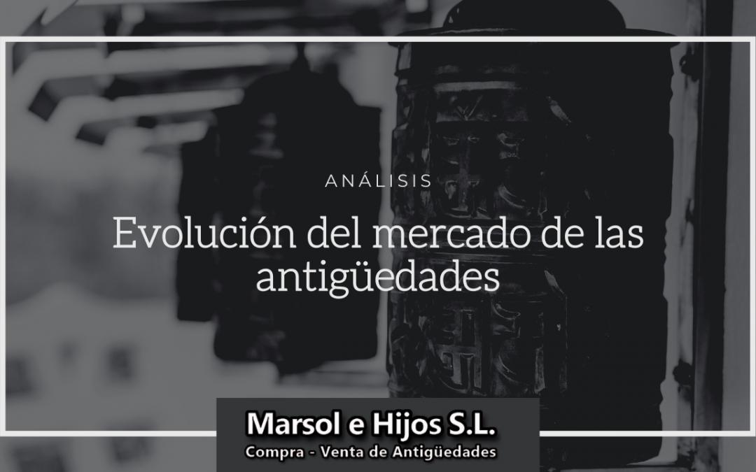 Evolución del mercado de las antigüedades