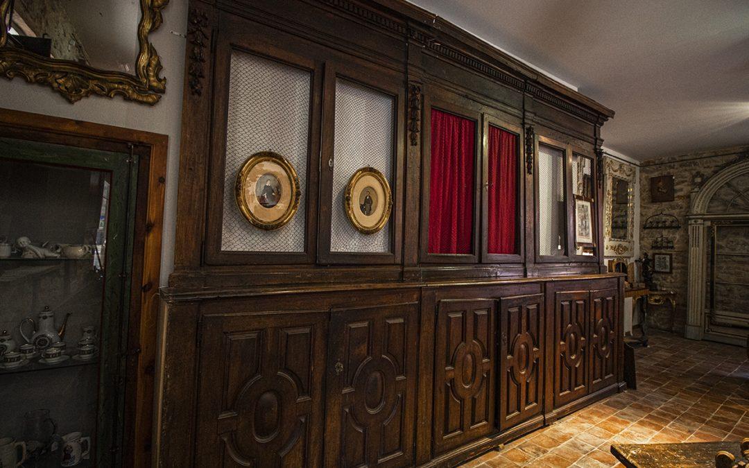 Mueble librería del siglo XVII