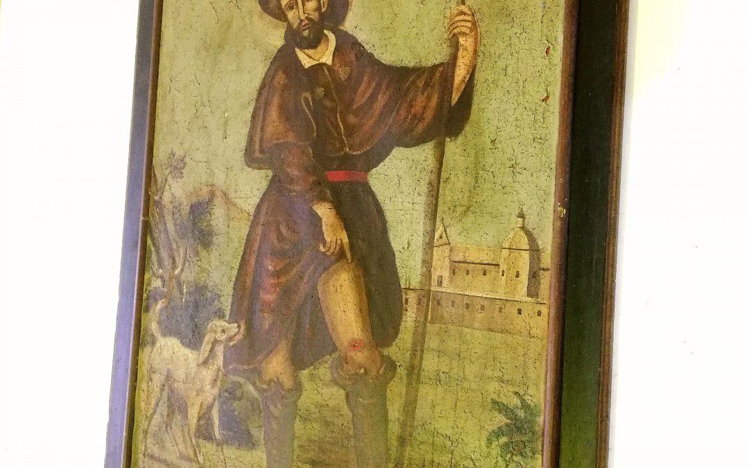 San Roque, patrón de Alhama de Aragón