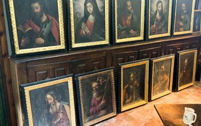 Colección de 10 cuadros, siglos XVII y XVIII