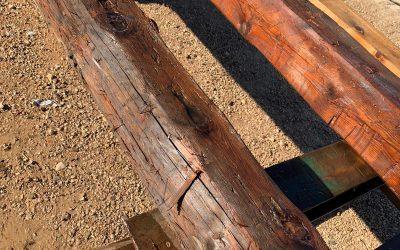 Recuperación de vigas de madera