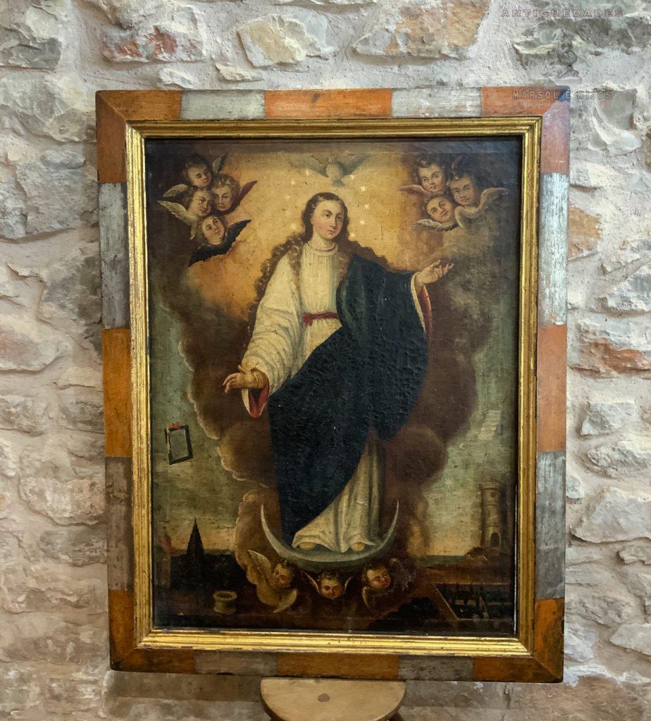 Cuadro Virgen Inmaculada siglo XVII