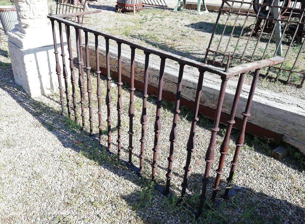 balcón de forja
